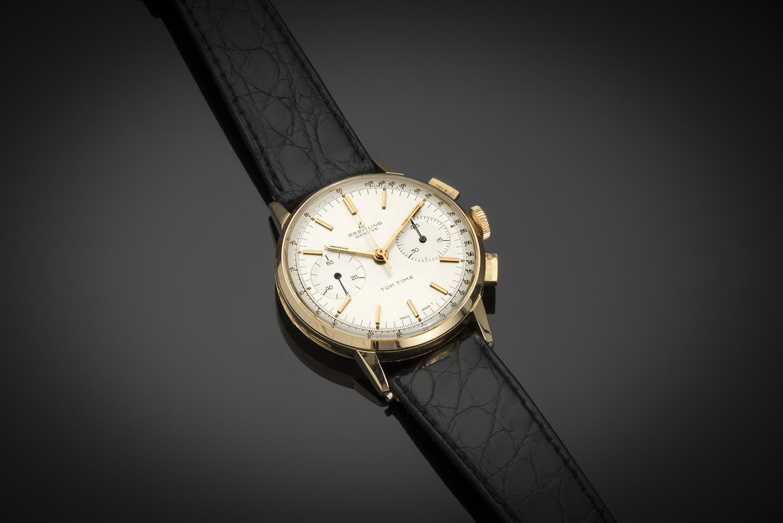 Breitling chronographe or vers 1960-1