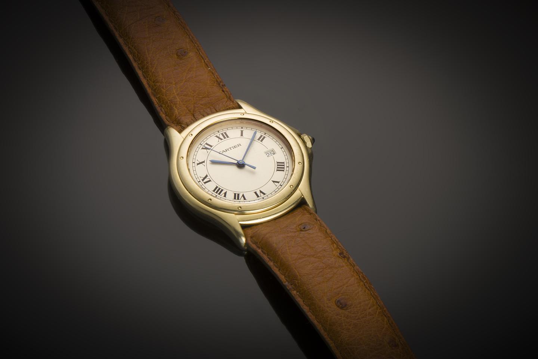 Montre Cartier or-1