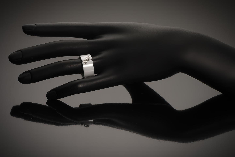 Bague Chaumet diamants céramique-2