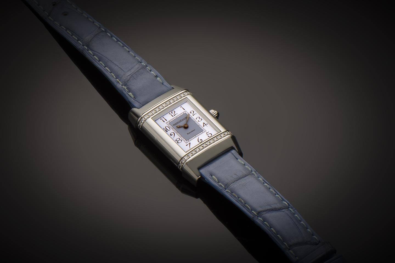 Montre Jaeger LeCoultre Reverso diamants-1
