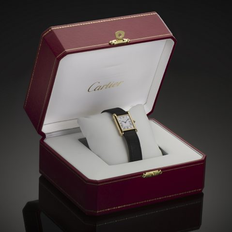 Montre Cartier Tank Louis Cartier or
