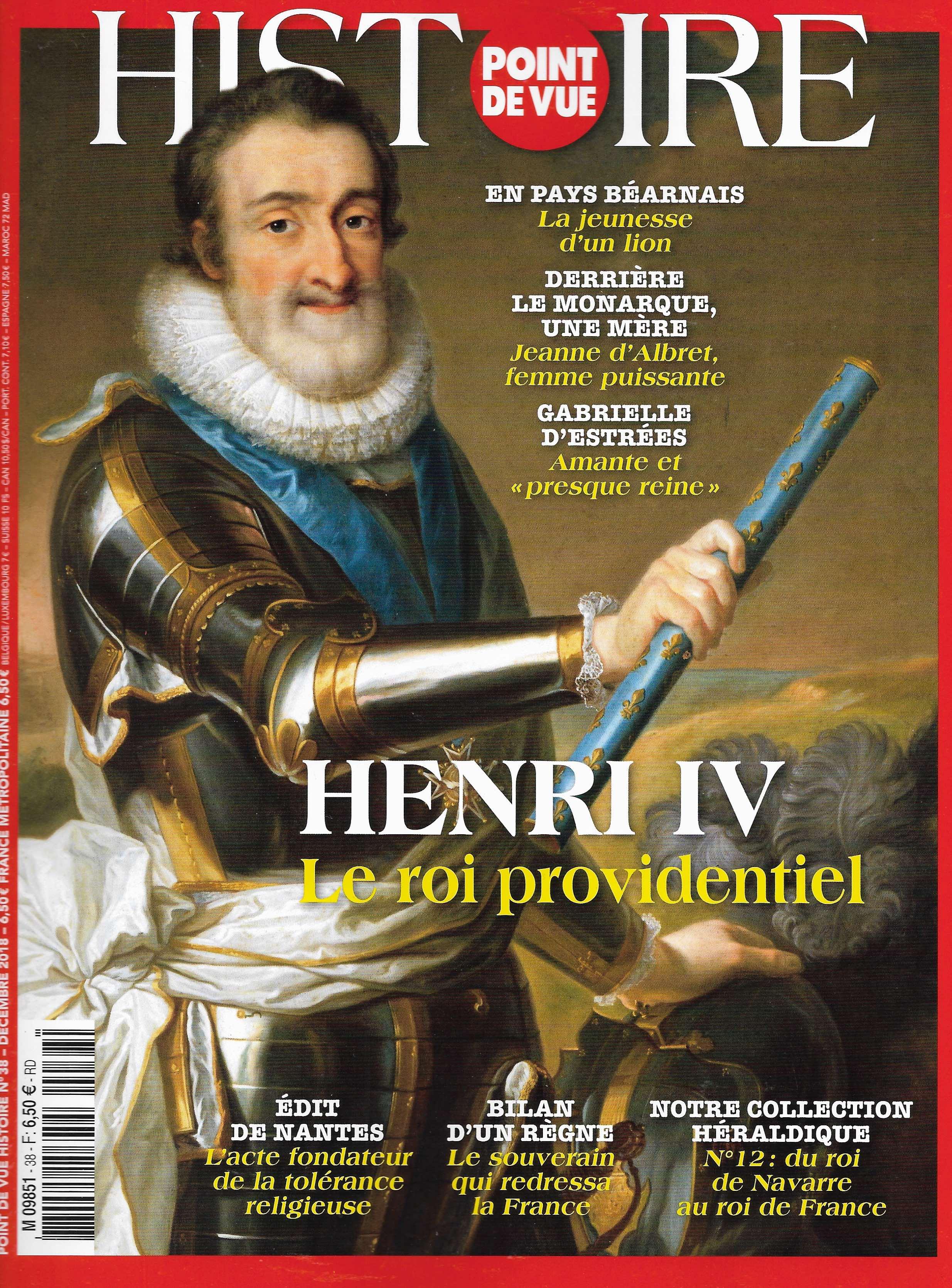 A lire dans Point de Vue hors-série Histoire un article concernant le Talisman de Charlemagne