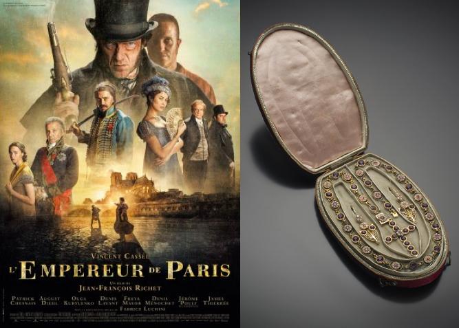Un de nos bijoux anciens à l'honneur dans le film « L'Empereur de Paris »