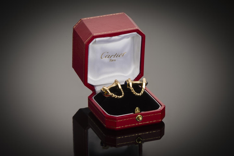 Boutons de manchettes Cartier-1