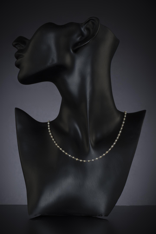 Collier perles fines Art Déco-2