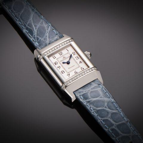Montre Jaeger LeCoultre Reverso diamants