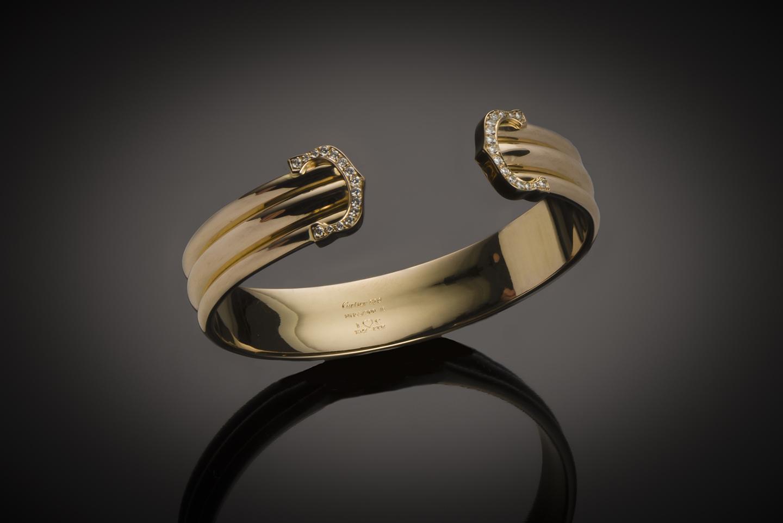 Bracelet Cartier diamants-1