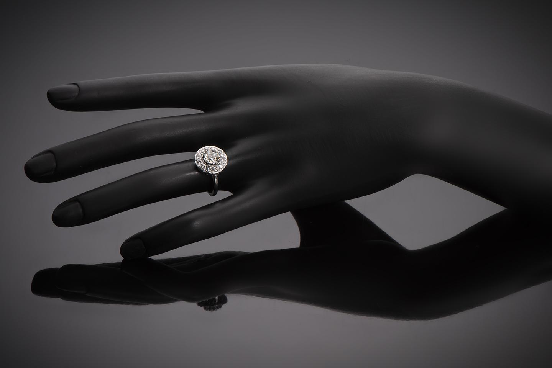 Bague Art Déco diamants (2,30 carats)-2