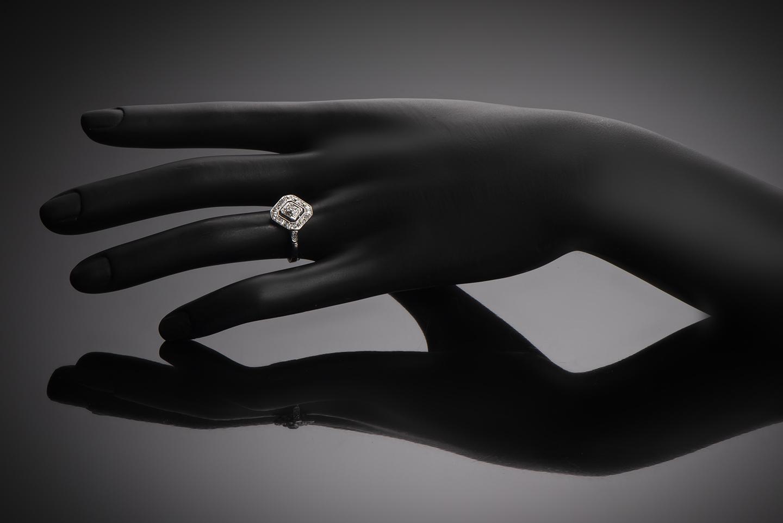 Bague diamants Art Déco-2