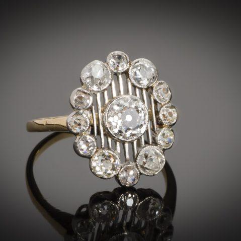 Bague début XXe siècle diamants (1,40 carat)