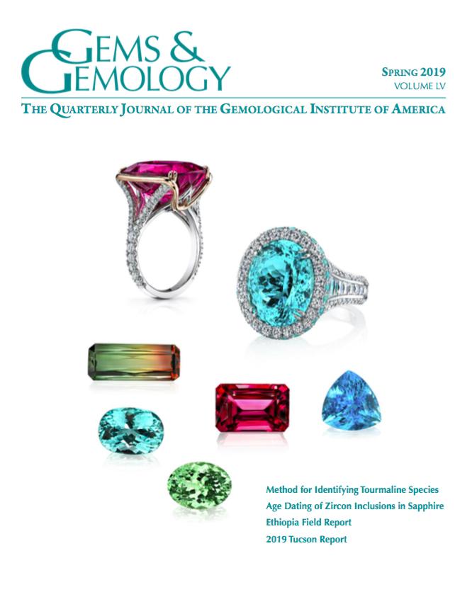Parution de l'article « The Talisman of Charlemagne : New Historical and Gemological Discoveries » dans le magazine américain Gems & Gemology