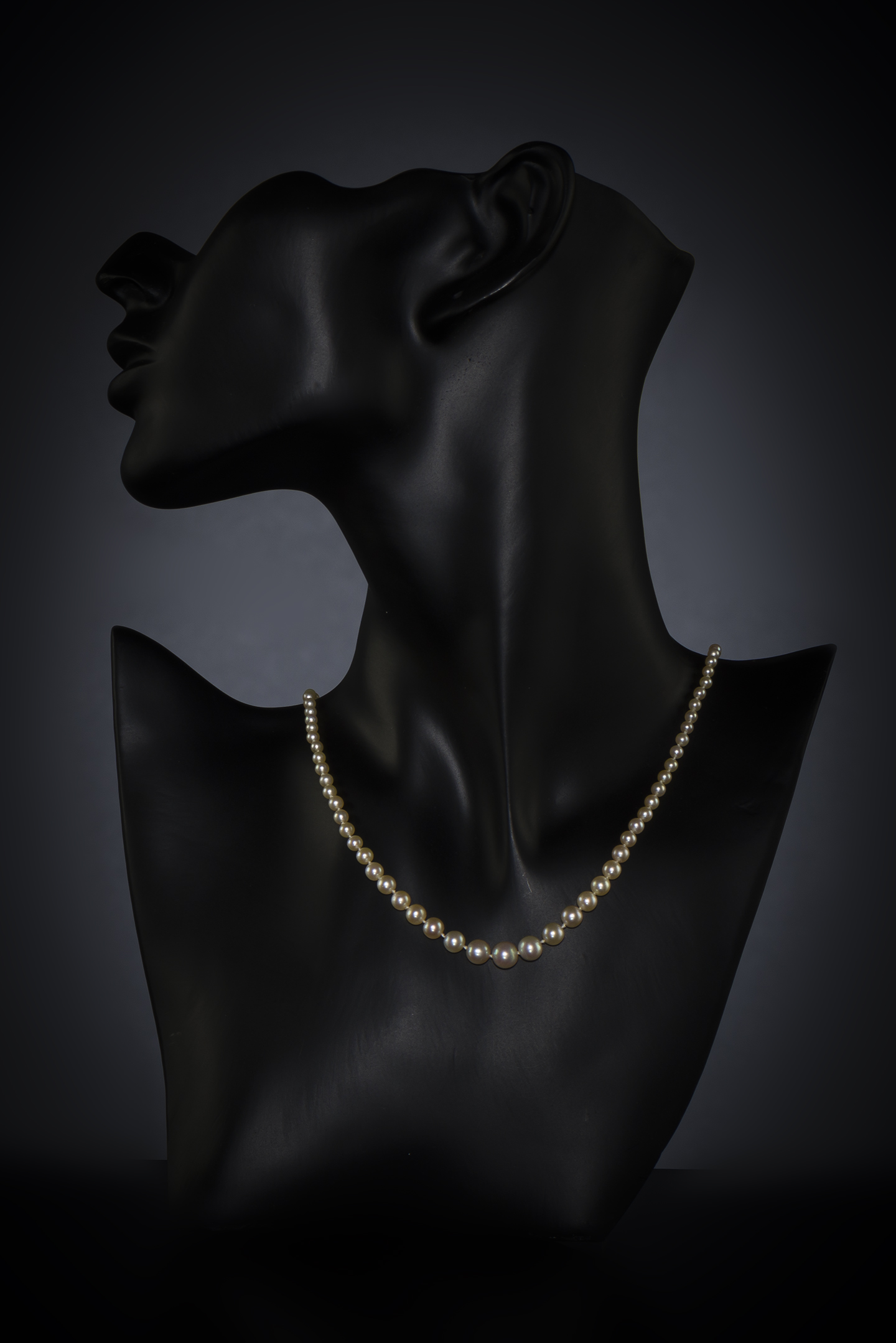 Collier Cartier circa 1929 perles fines (certificat LFG)-2
