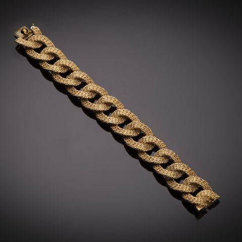 Bracelet Van Cleef & Arpels vintage vers 1960 (poinçon de maître Georges Lenfant)