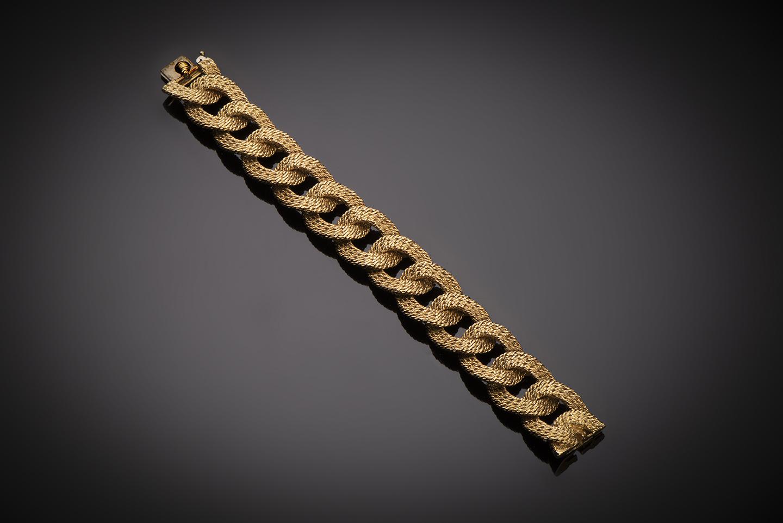 Bracelet Van Cleef & Arpels vintage vers 1960 (poinçon de maître Georges Lenfant)-1