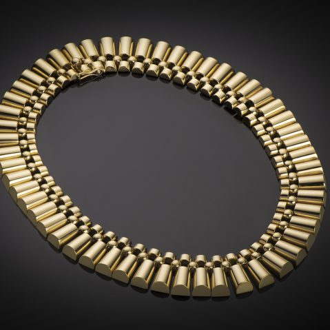 Collier vers 1940 or (145 grs)