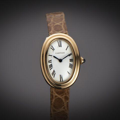 Montre Cartier Baignoire vintage 1970 or