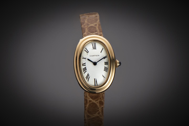 Montre Cartier Baignoire vintage 1970 or-1
