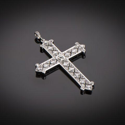 Croix diamants vers 1920