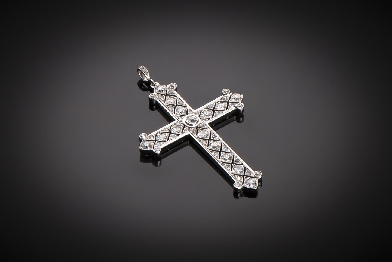 Croix diamants vers 1920-1