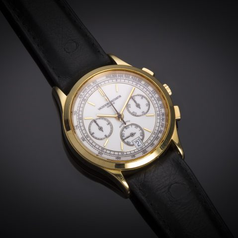 Montre Vacheron Constantin chronographe or