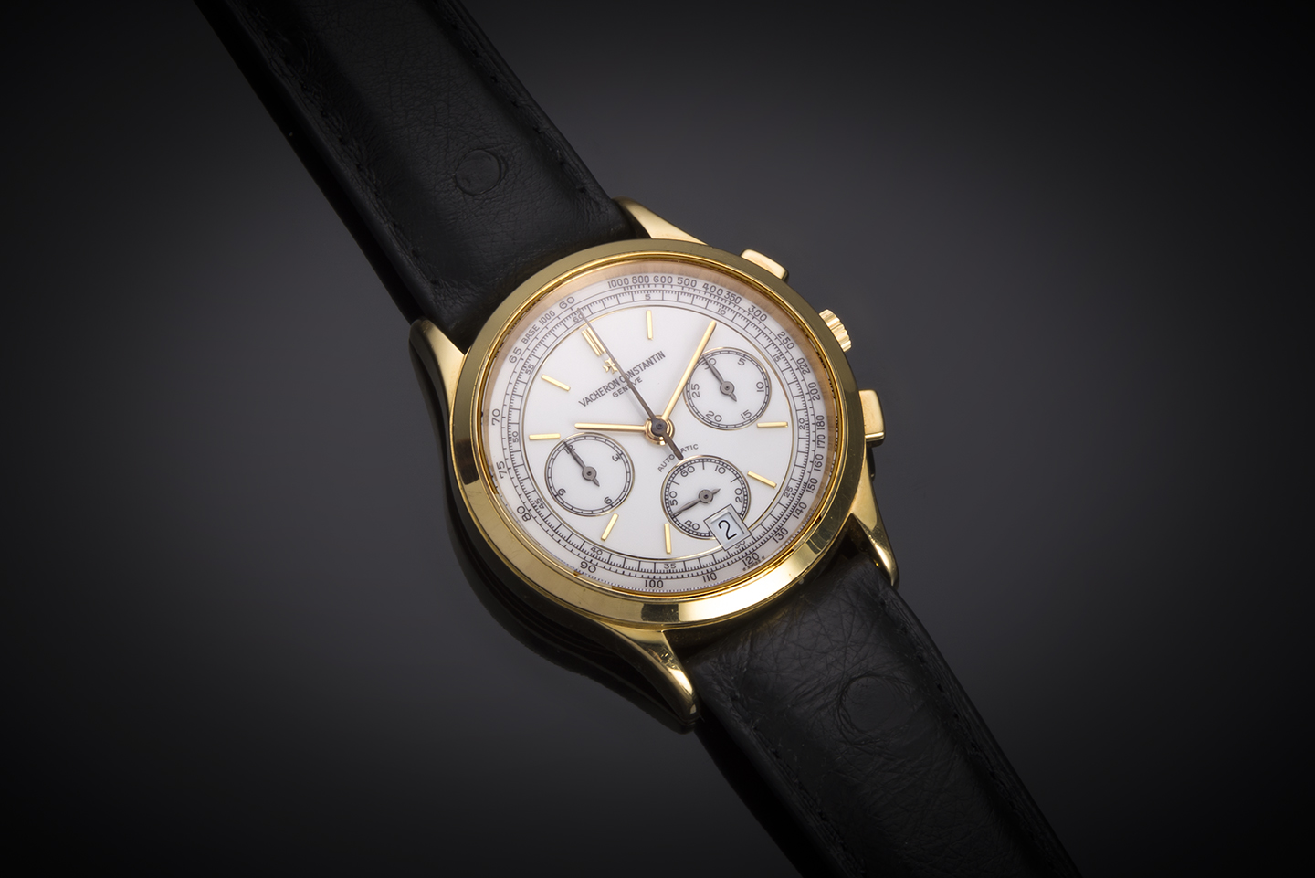 Montre Vacheron Constantin chronographe or-1