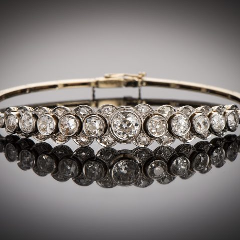Bracelet diamants (3,80 carats) vers 1920