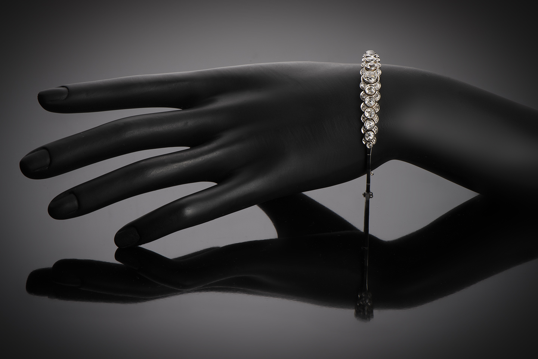 Bracelet diamants (3,80 carats) vers 1920-2