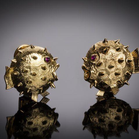 Boucles d'oreilles Hermès vintage