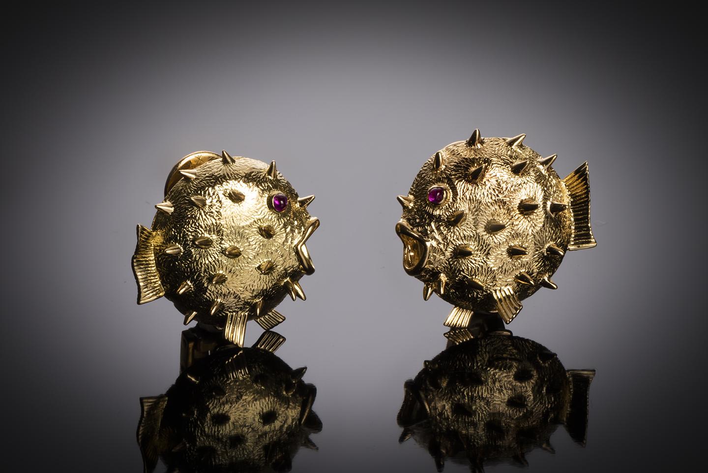 Boucles d'oreilles Hermès vintage-1