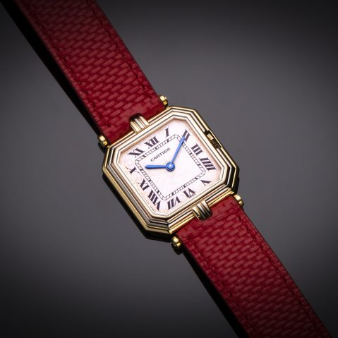 Montre Cartier ceinture or
