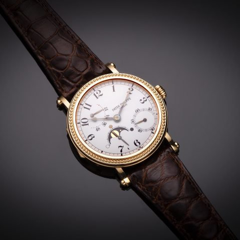 Montre Patek Philippe complications or rose (full set)