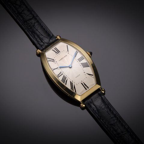 Montre Cartier or