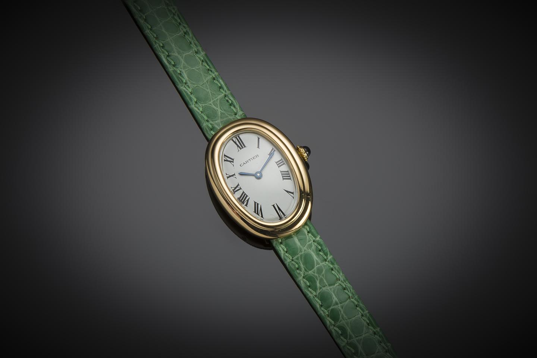 Montre Cartier Baignoire vintage vers 1970-1
