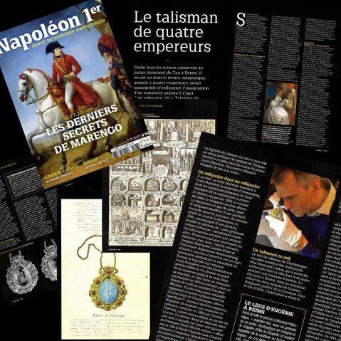 Retrouvez-nous dans le magazine Napoléon 1er