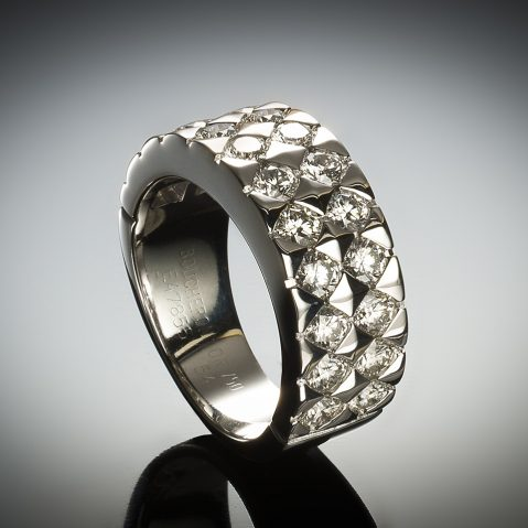 Bague Boucheron diamants