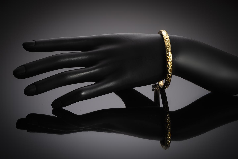 Bracelet rigide début XXe siècle-2