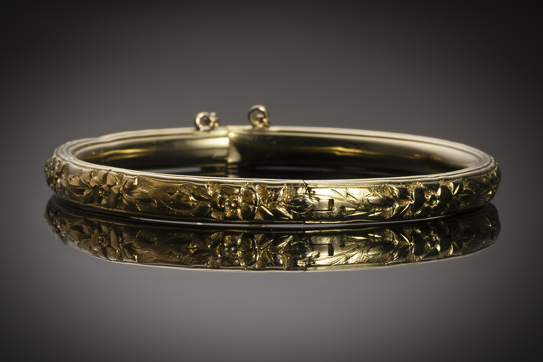 Bracelet rigide début XXe siècle-1