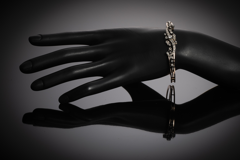 Bracelet diamants époque Napoléon III-3