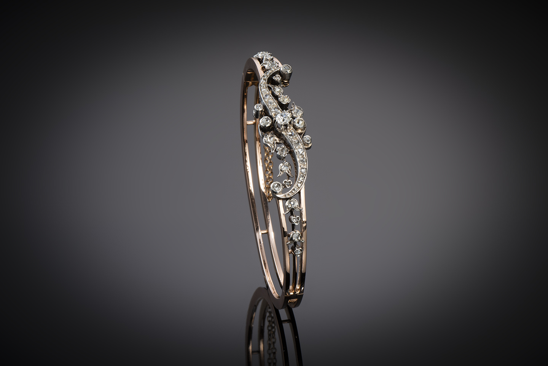 Bracelet diamants époque Napoléon III-2