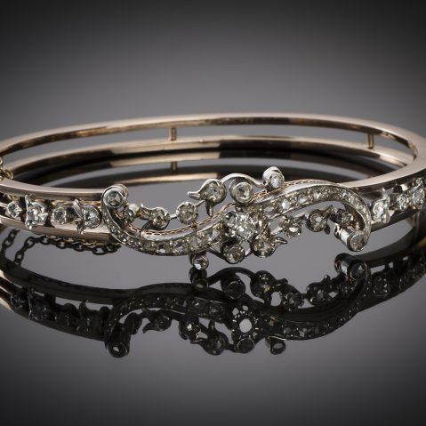 Bracelet diamants époque Napoléon III