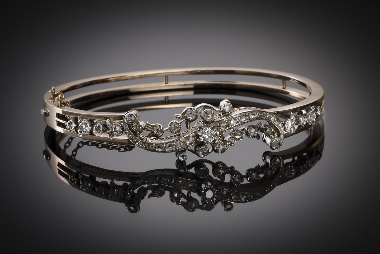 Bracelet diamants époque Napoléon III-1