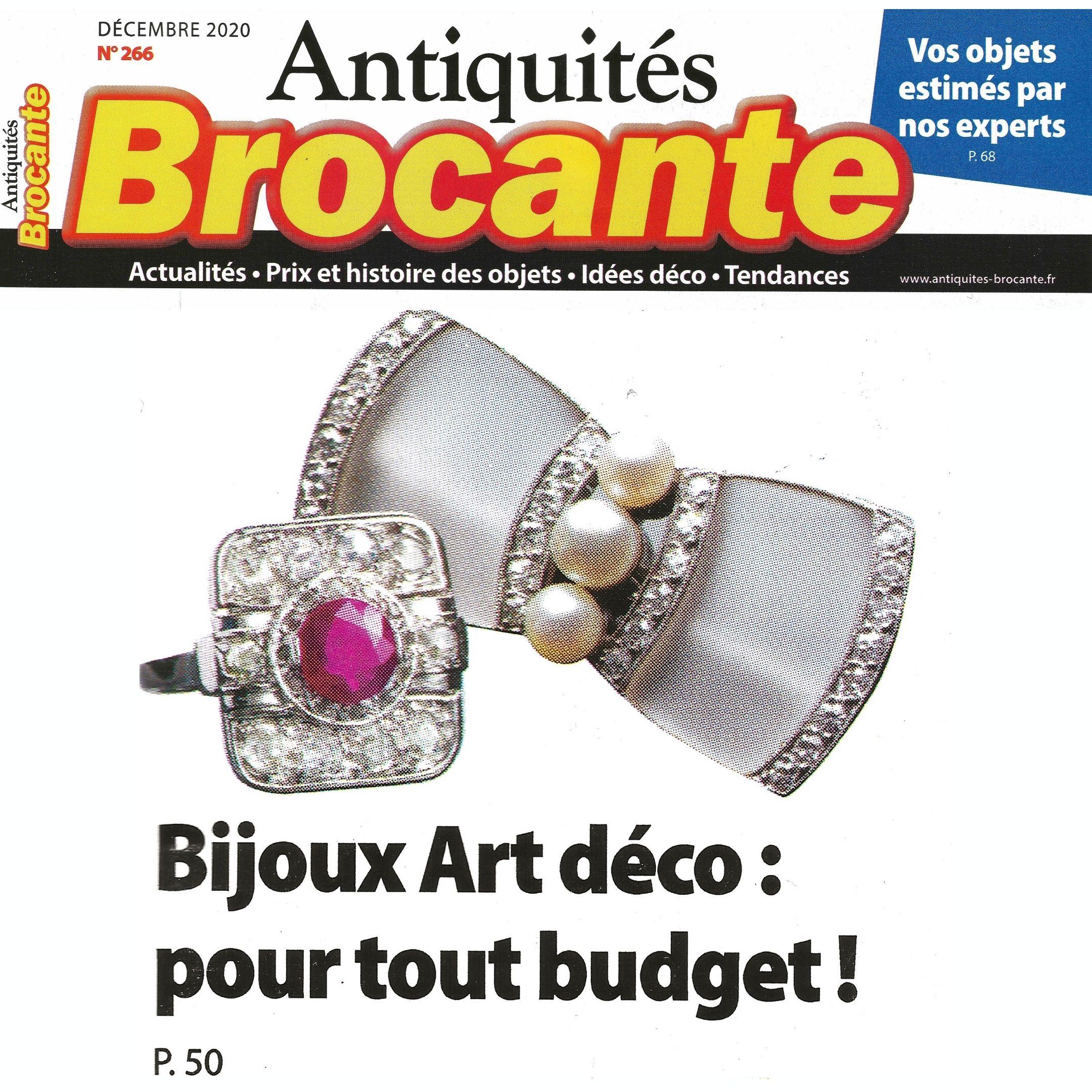 Les bijoux Art Déco : Une vision de la modernité