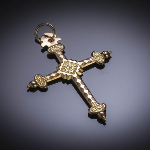 Croix début XIXe siècle (poinçon : tête de bélier)
