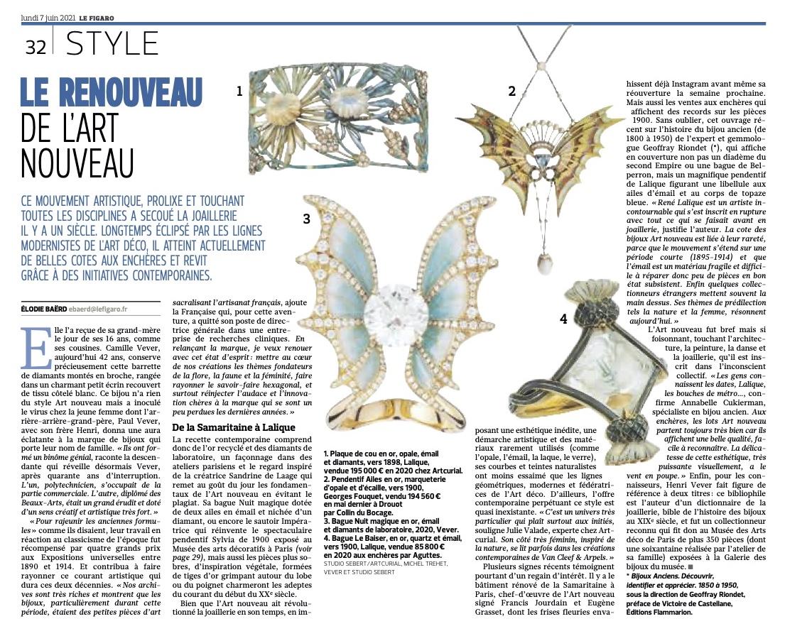 Le renouveau de l'Art nouveau aujourd'hui dans Le Figaro