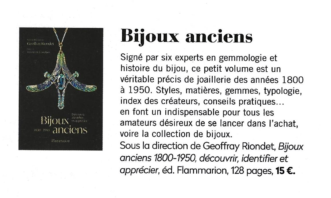 A lire dans la Gazette Drouot