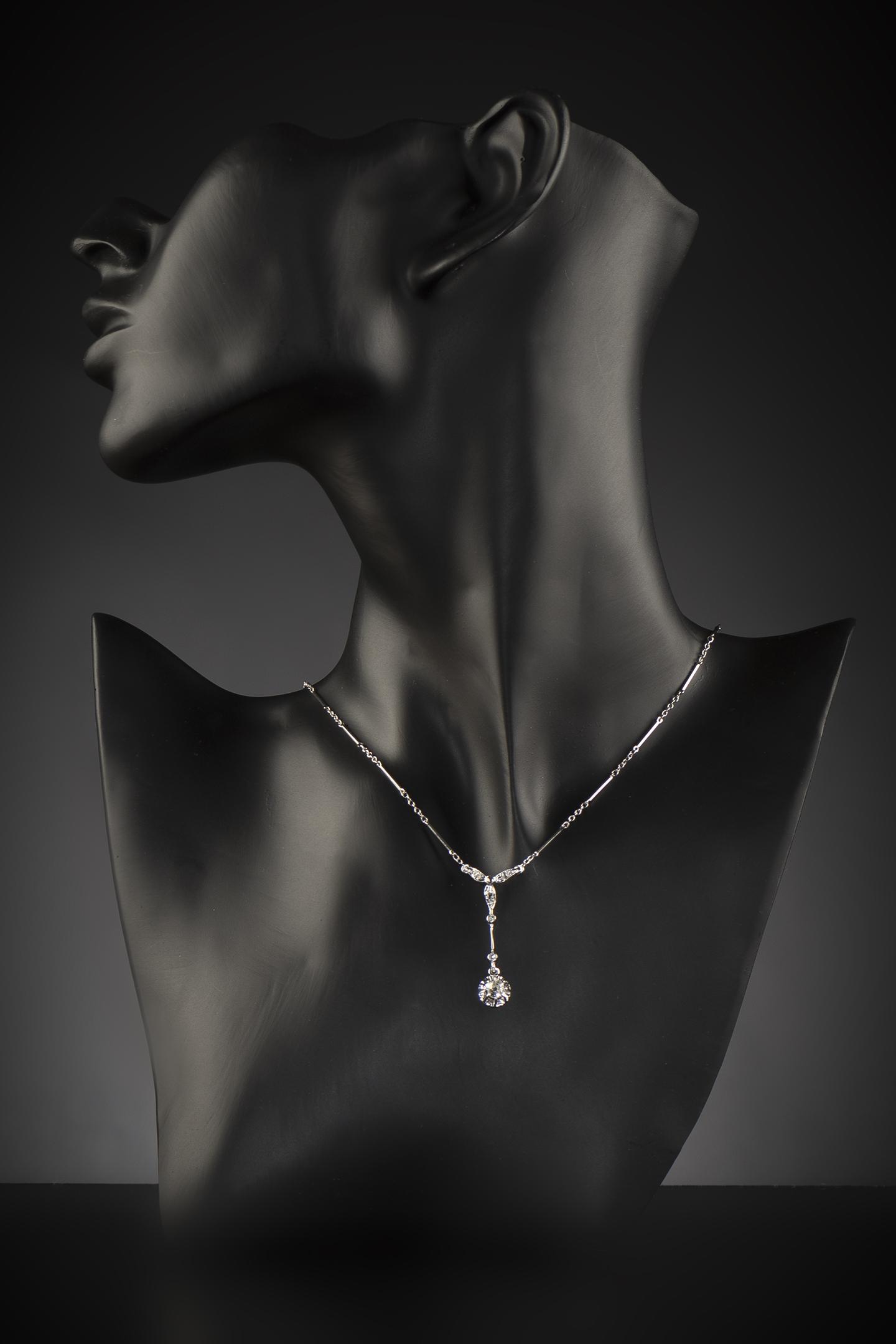 Collier Art Déco diamants-2